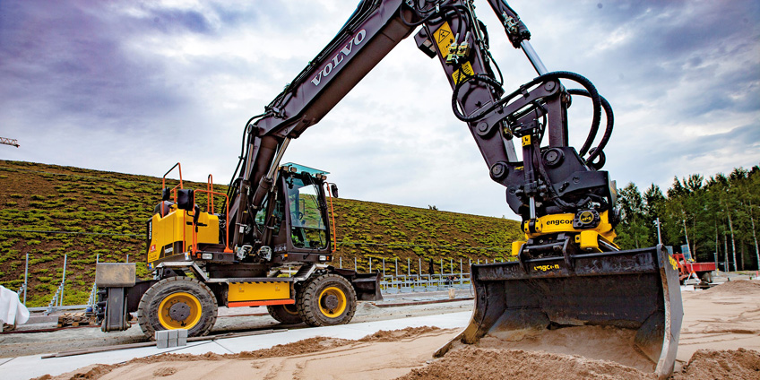 Excavation equipment financing