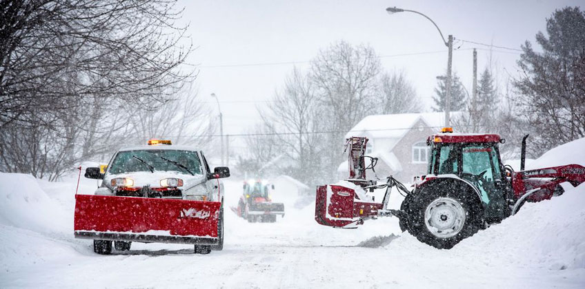 Snow removal equipment financing